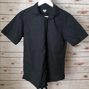 Other - Navy button down short sleeve shirt
